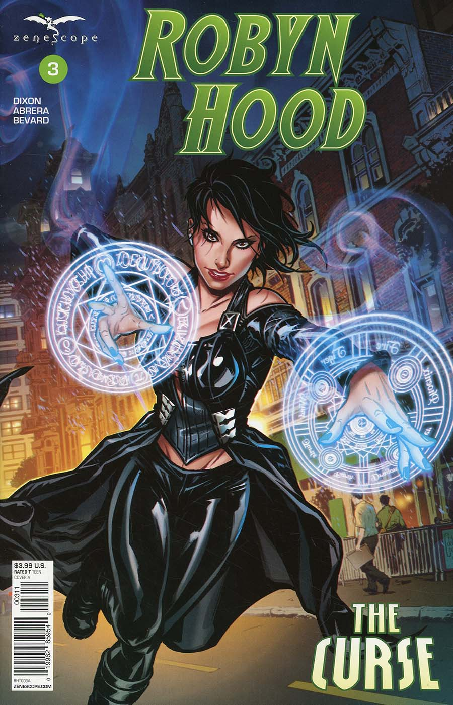 Grimm Fairy Tales Presents Robyn Hood The Curse #3 Cover A Riveiro