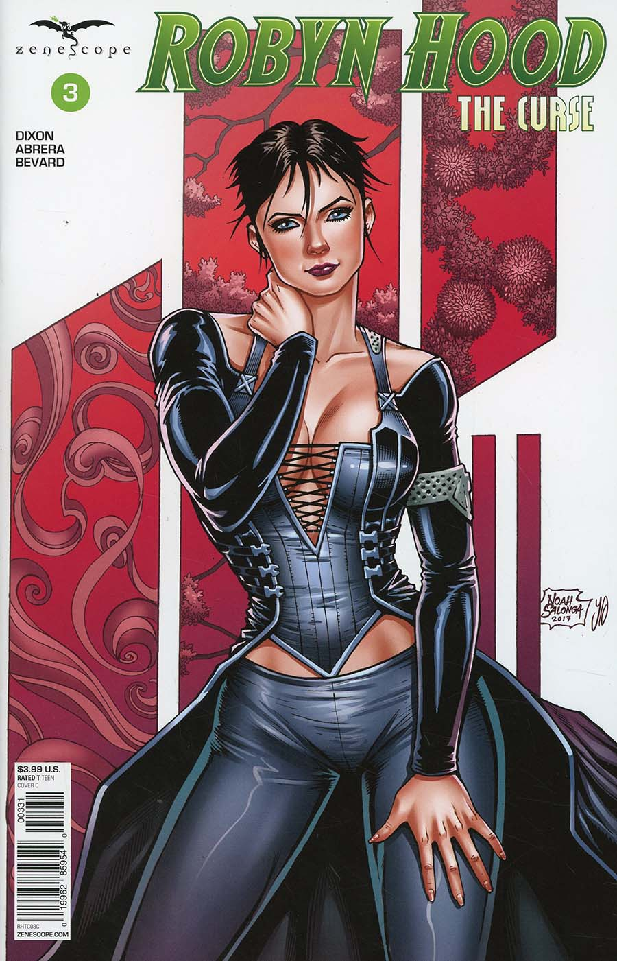 Grimm Fairy Tales Presents Robyn Hood The Curse #3 Cover C Noah Salonga