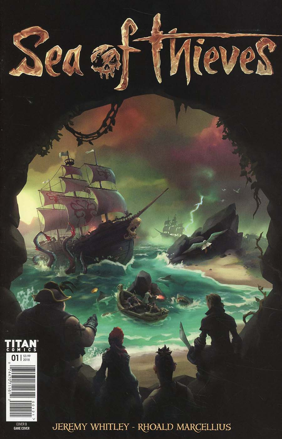 Sea Of Thieves #1 Cover B Variant Game Art Cover