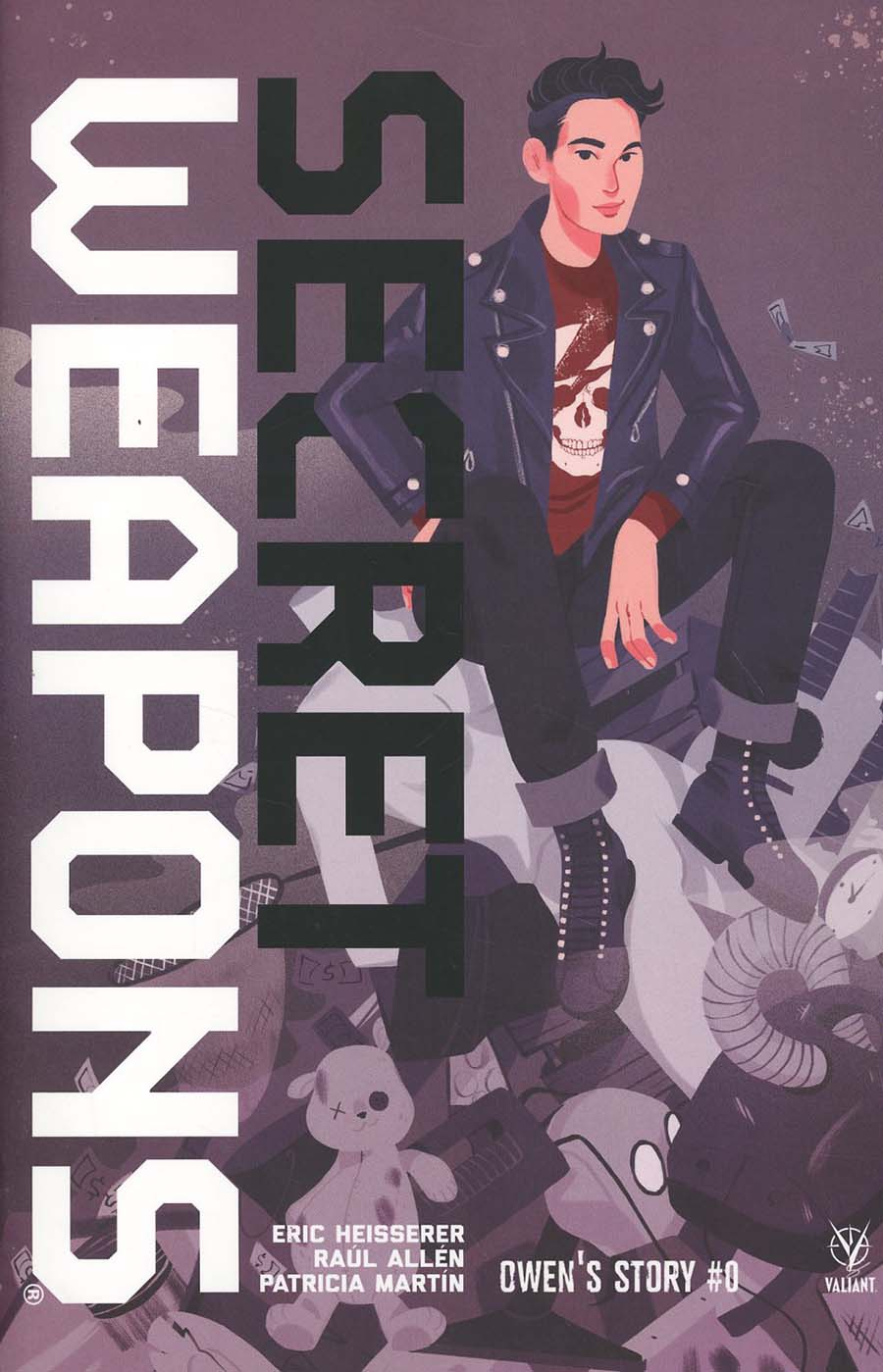 Secret Weapons Owens Story One Shot Cover B Variant Sibylline Meynet Cover