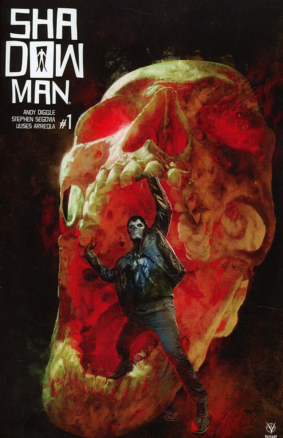 Shadowman Vol 5 #1 Cover B Variant Renato Guedes Cover