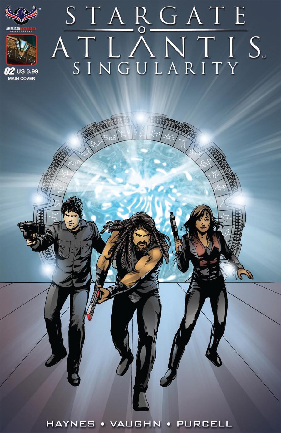 Stargate Atlantis Singularity #2 Cover A Regular Mark Wheatley Cover