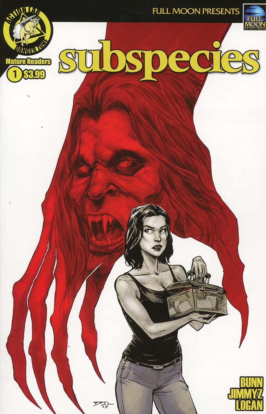 Subspecies (Danger Zone) #1 Cover A Regular Daniel Jay Logan Cover