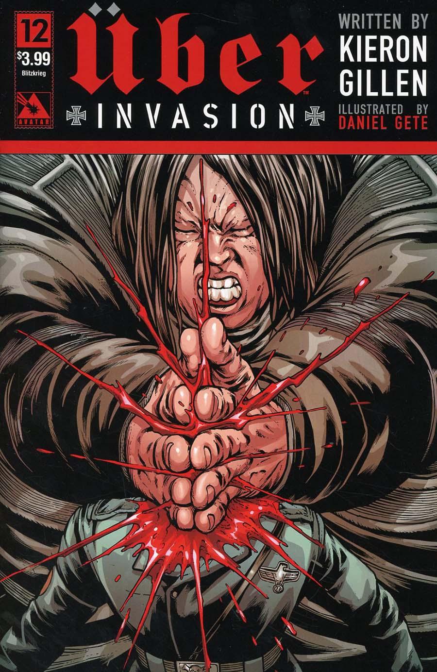 Uber Invasion #12 Cover D Blitzkrieg Cover