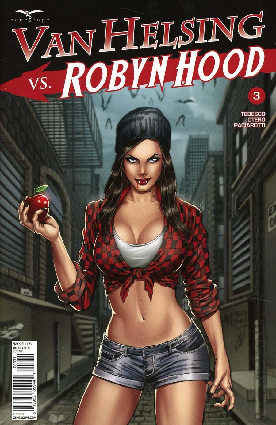 Grimm Fairy Tales Presents Van Helsing vs Robyn Hood #3 Cover C Alfredo Reyes