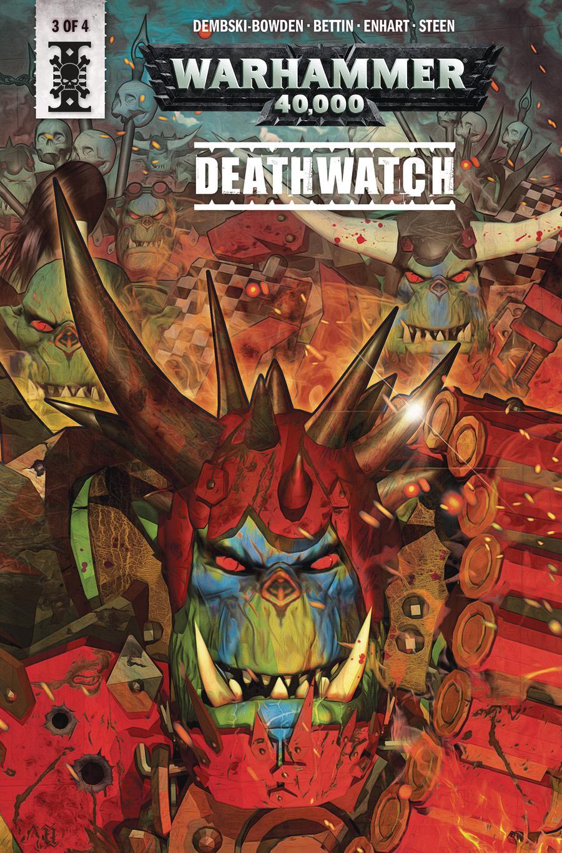 Warhammer 40000 Deathwatch #3 Cover A Regular Fabio Listrani Cover