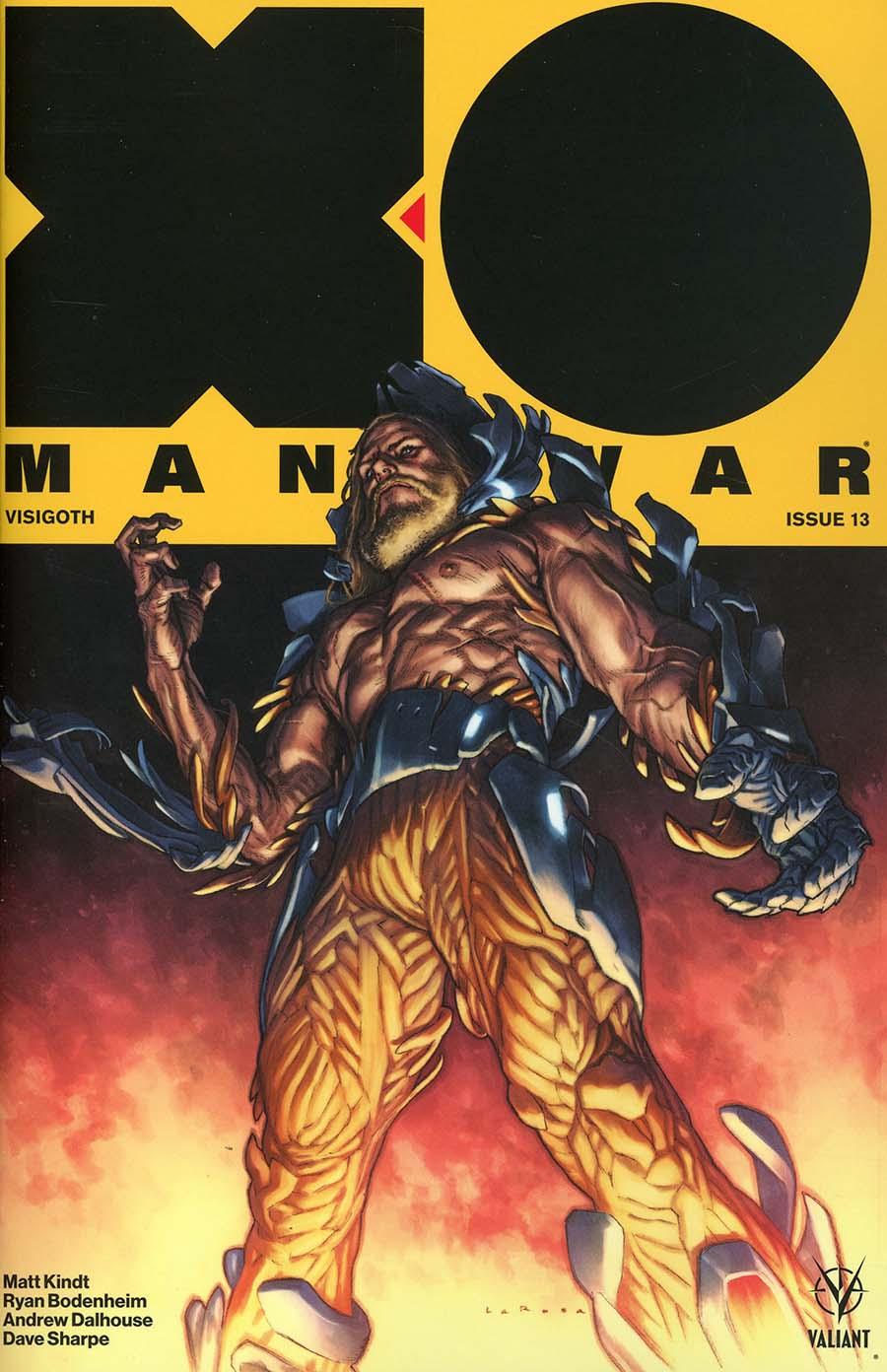 X-O Manowar Vol 4 #13 Cover A Regular Lewis Larosa Cover