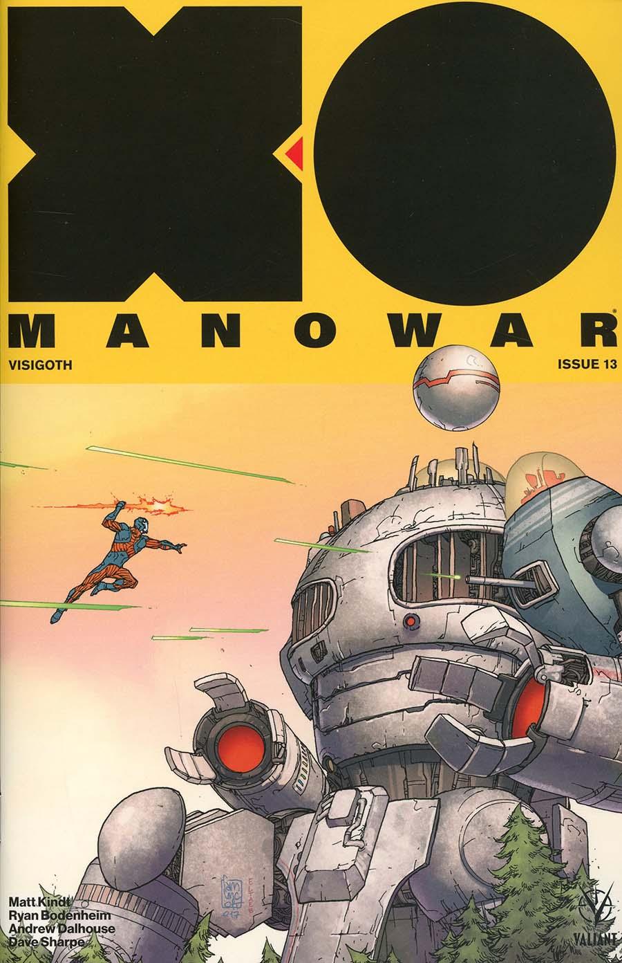 X-O Manowar Vol 4 #13 Cover B Variant Giuseppe Camuncoli Cover