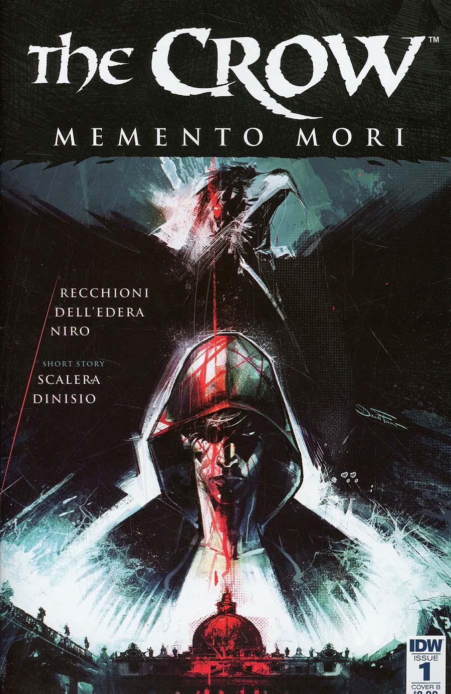 Crow Memento Mori #1 Cover B Variant Davide Furno Cover