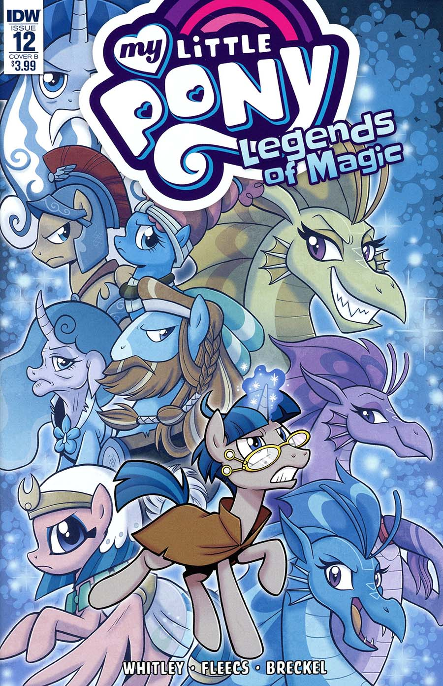 My Little Pony Legends Of Magic #12 Cover B Variant Brenda Hickey Cover