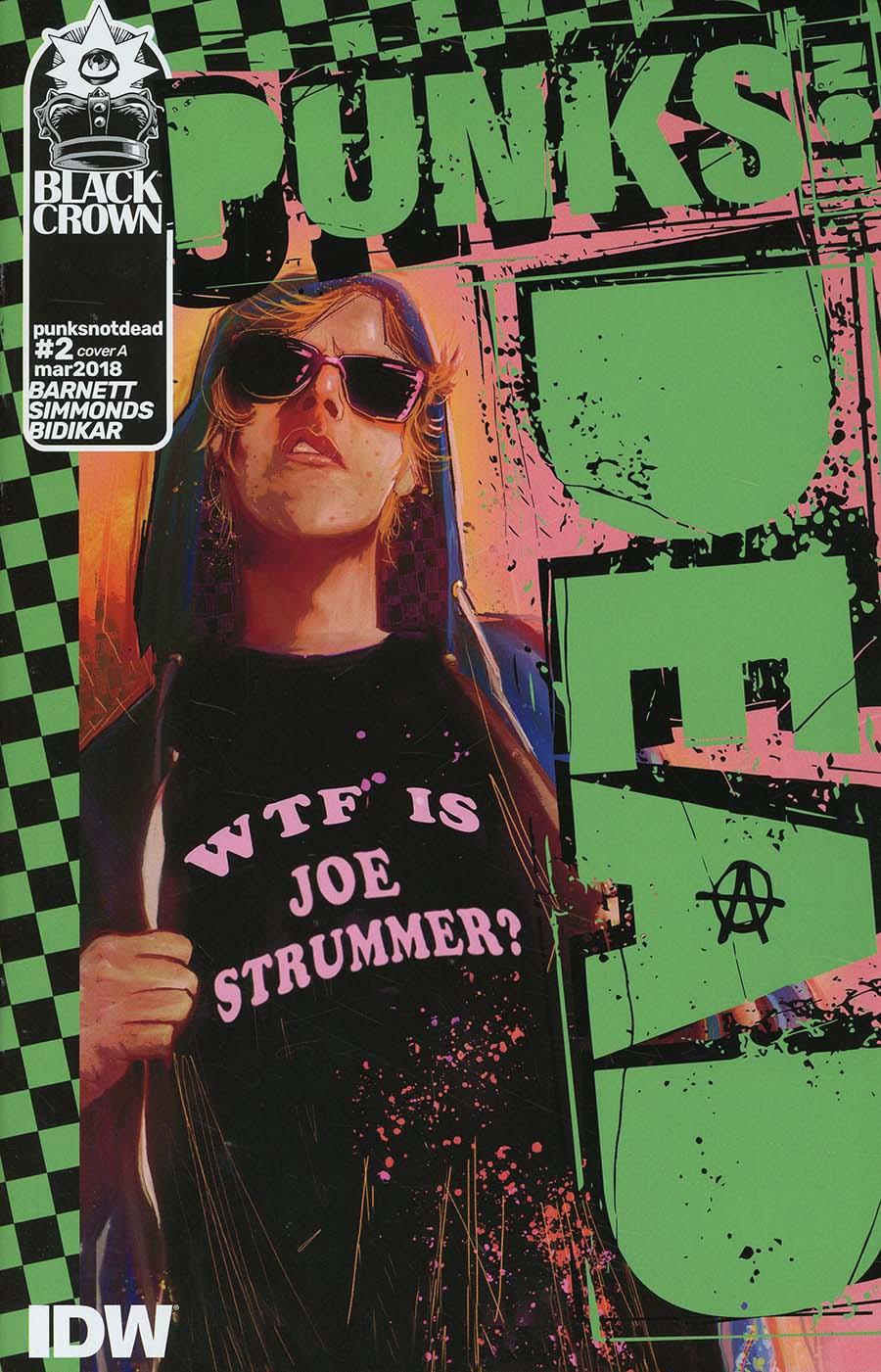 Punks Not Dead #2 Cover A Regular Martin Simmonds Cover