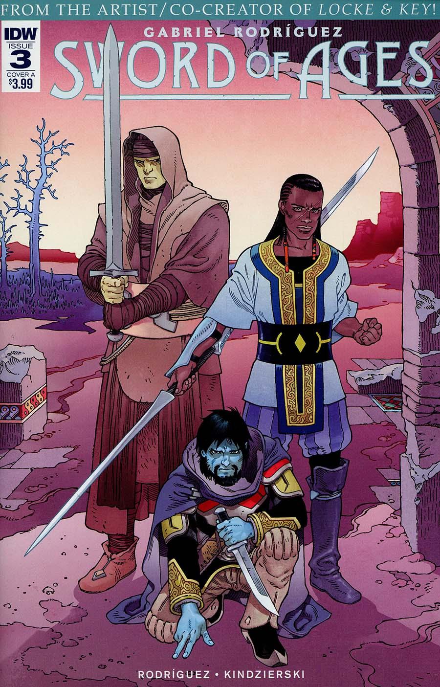 Sword Of Ages #3 Cover A Regular Gabriel Rodriguez Cover