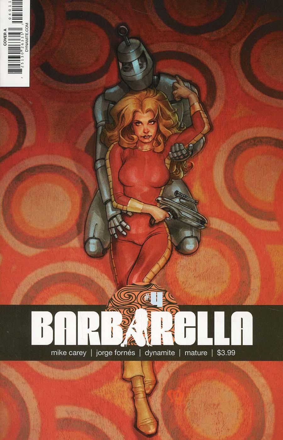 Barbarella #4 Cover A Regular Stephane Roux Cover