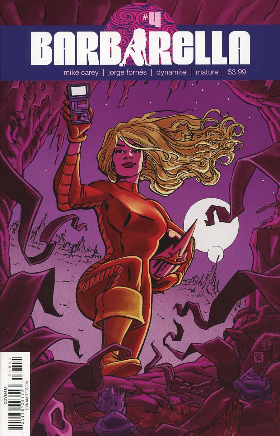 Barbarella #4 Cover D Variant Goran Sudzuka Cover