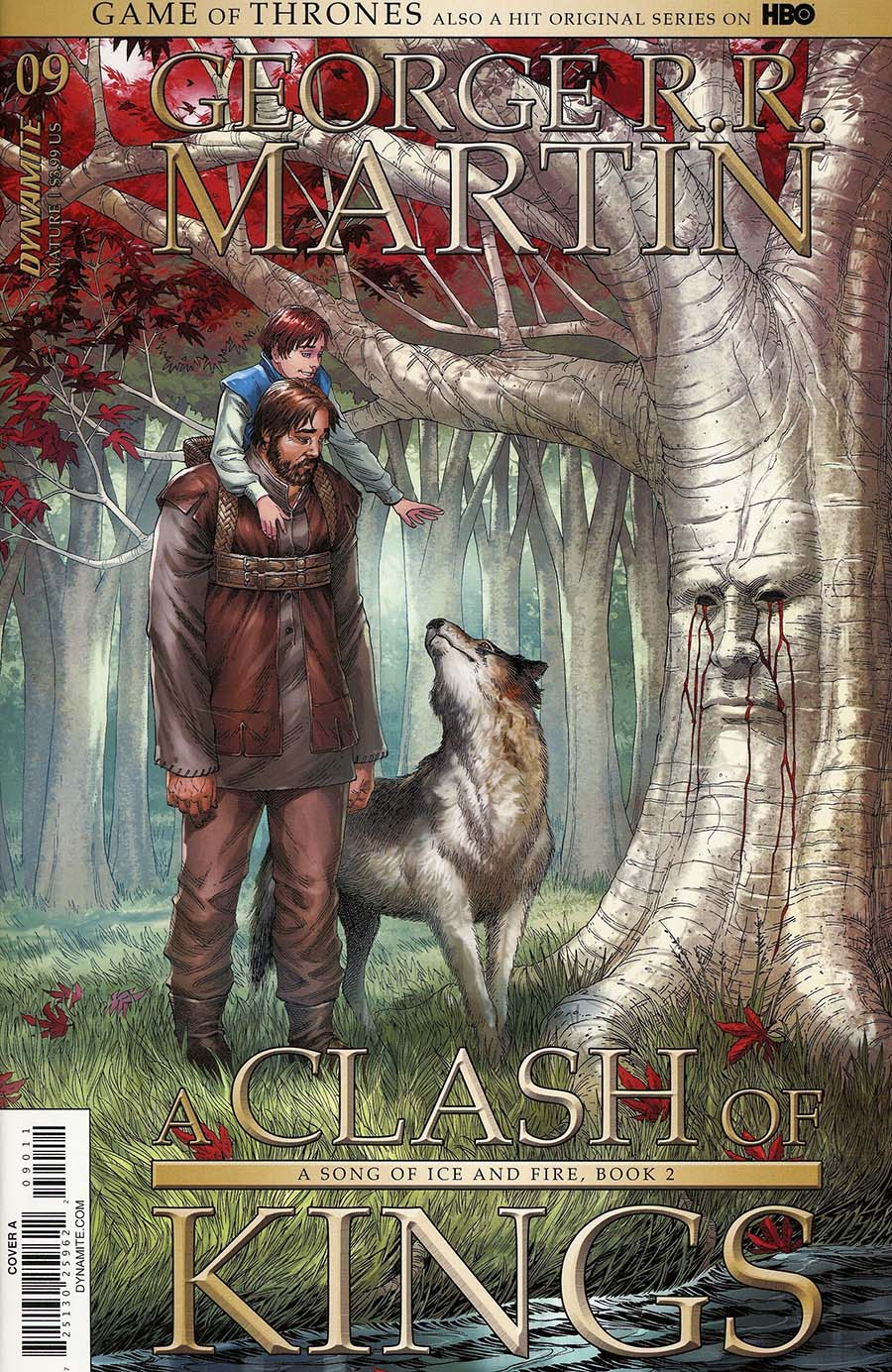 Game Of Thrones Clash Of Kings #9 Cover A Regular Mike S Miller Cover