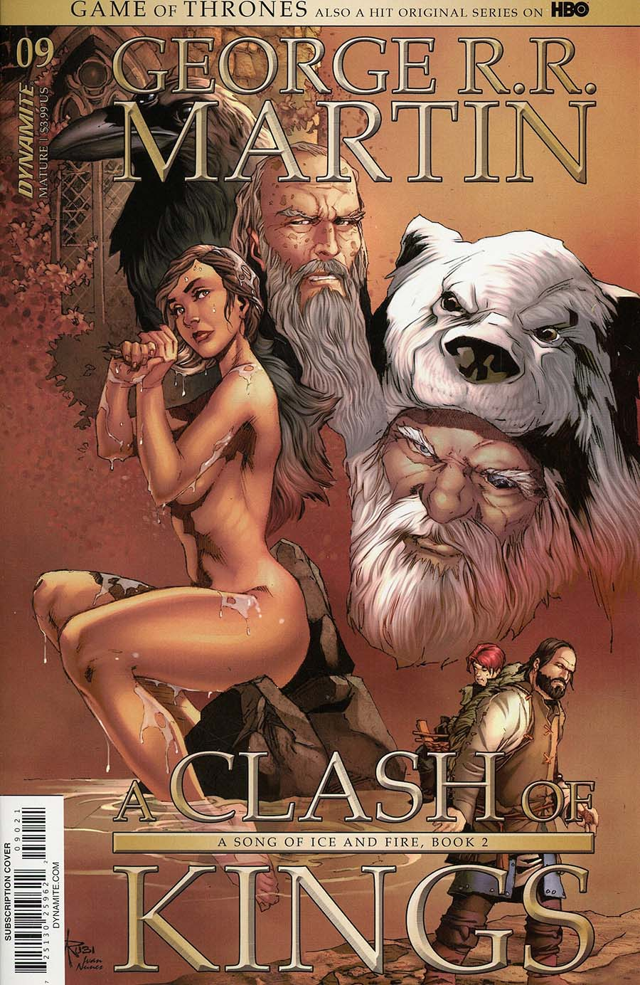 Game Of Thrones Clash Of Kings #9 Cover B Variant Mel Rubi Subscription Cover