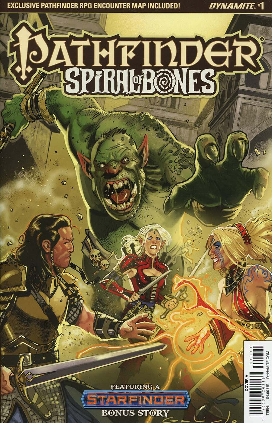 Pathfinder Spiral Of Bones #1 Cover A Regular Diego Galindo Cover