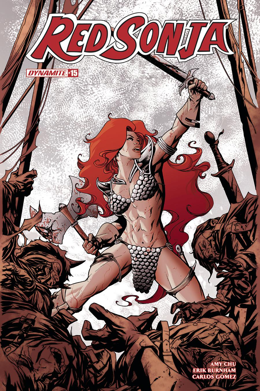 Red Sonja Vol 7 #15 Cover A Regular Mike McKone Cover
