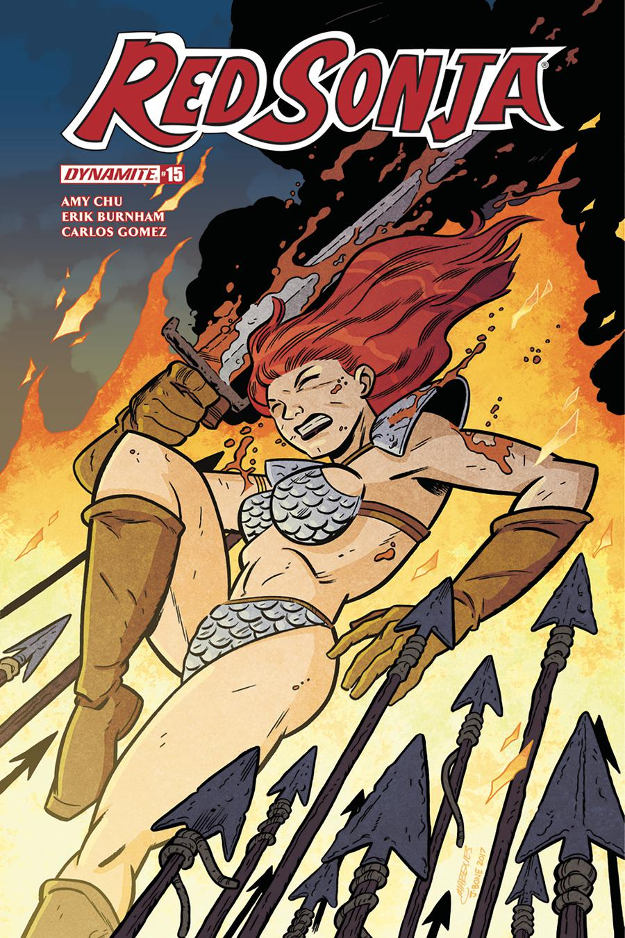 Red Sonja Vol 7 #15 Cover E Variant Anthony Marques Subscription Cover