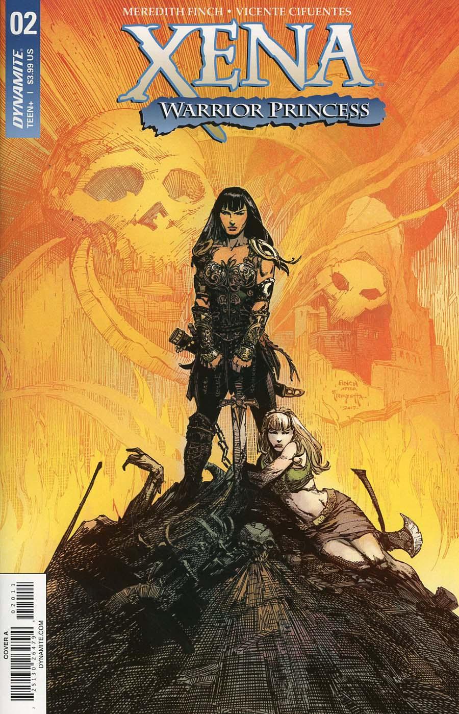 Xena Vol 2 #2 Cover A Regular David Finch Cover