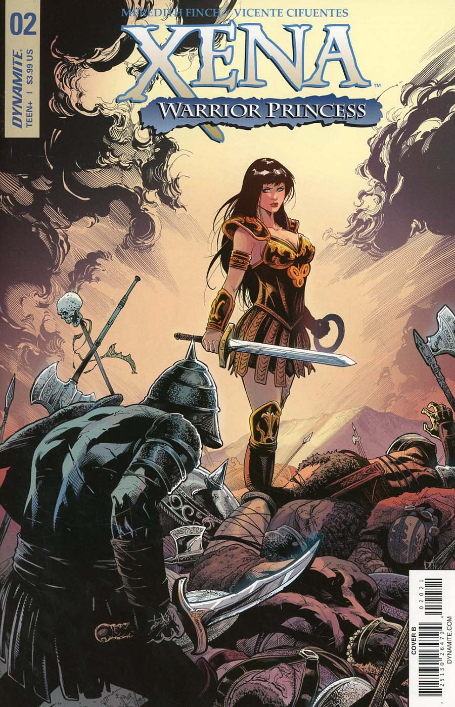 Xena Vol 2 #2 Cover B Variant Vicente Cifuentes Cover