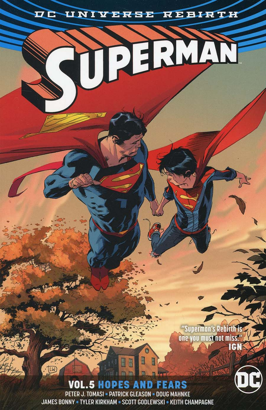 Superman (Rebirth) Vol 5 Hopes And Fears TP