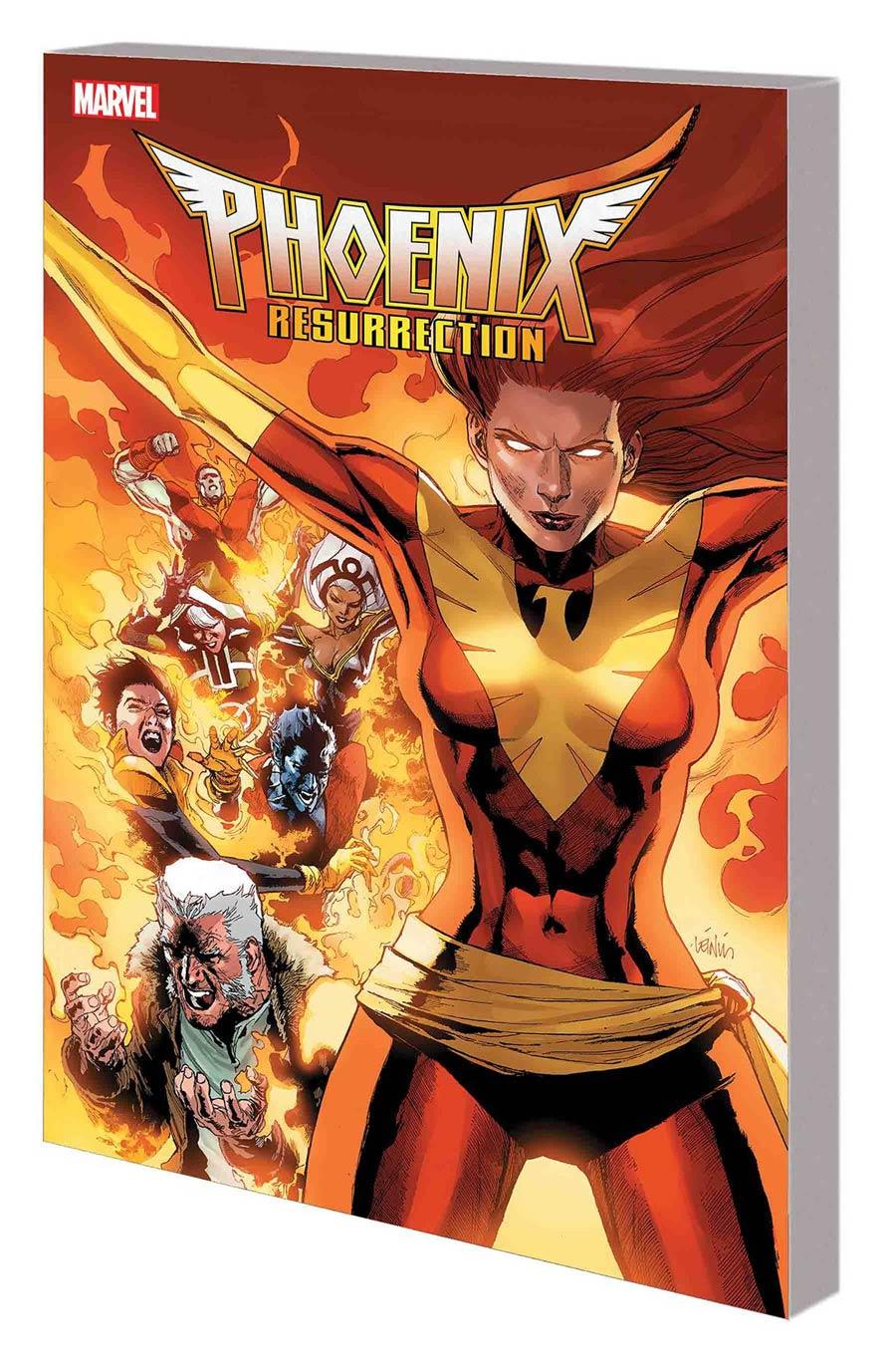 Phoenix Resurrection Return Of (Adult) Jean Grey TP Book Market Leinil Francis Yu Cover