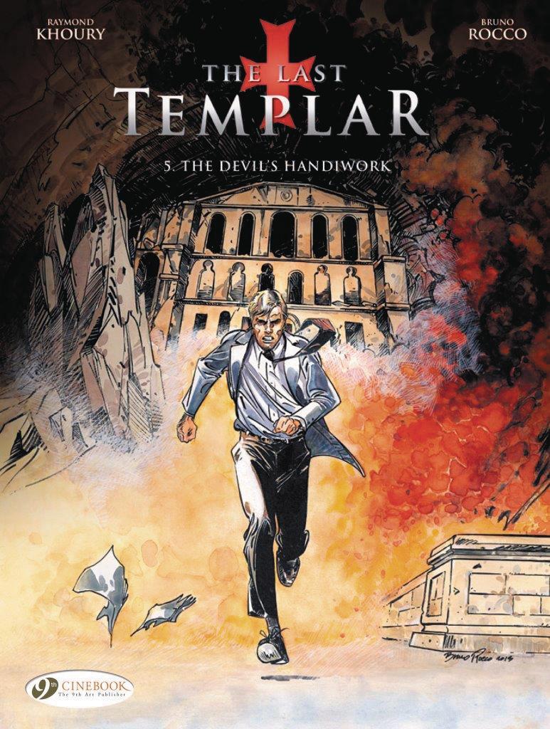 Last Templar Vol 5 The Devils Handiwork GN