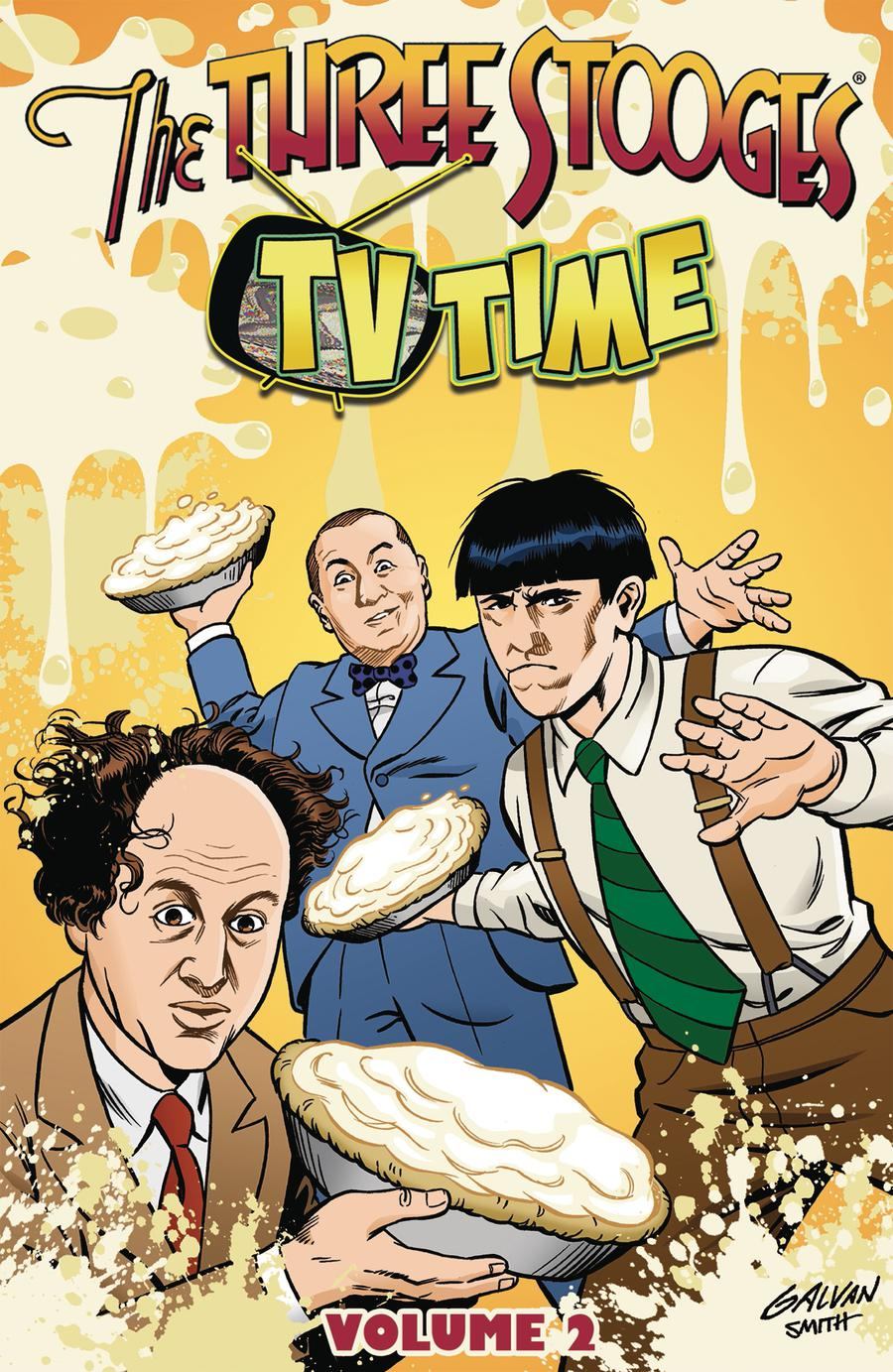Three Stooges Vol 2 TV Time TP