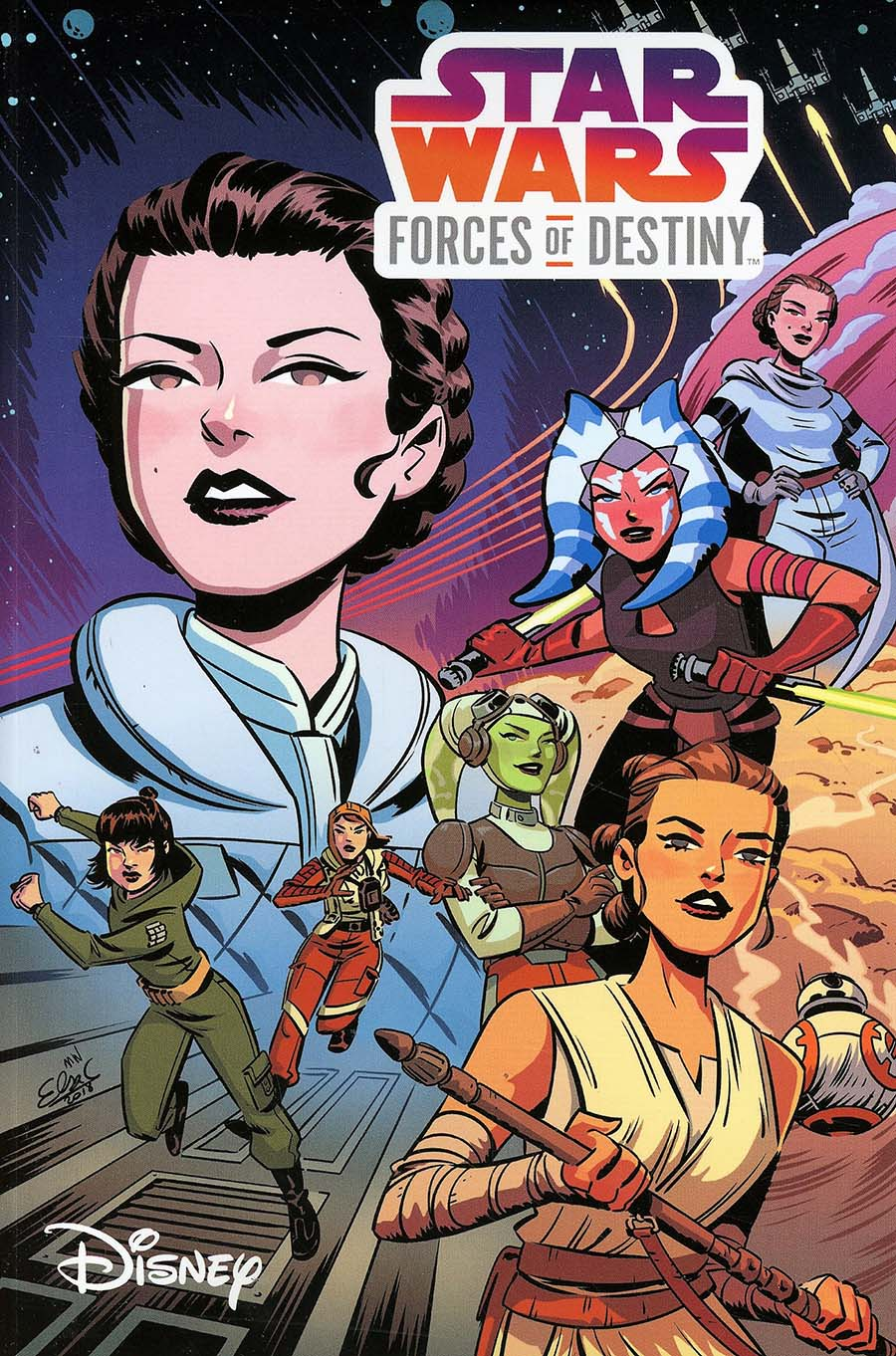 Star Wars Forces Of Destiny TP