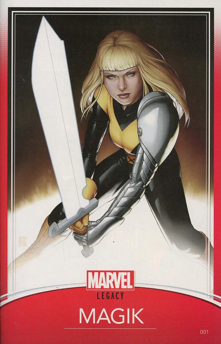 New Mutants Dead Souls #1 Cover B Variant John Tyler Christopher Trading Card Cover (Marvel Legacy Tie-In)