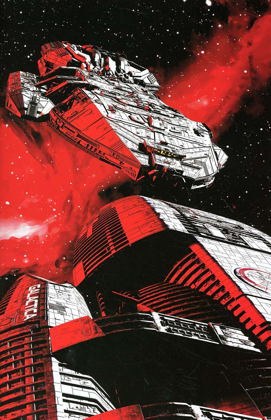 Battlestar Galactica vs Battlestar Galactica #3 Cover G Incentive Adam Mojo Lebowitz Virgin Cover