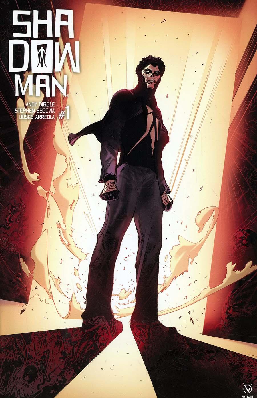 Shadowman Vol 5 #1 Cover E Incentive Travel Foreman Shadowman Icon Variant Cover