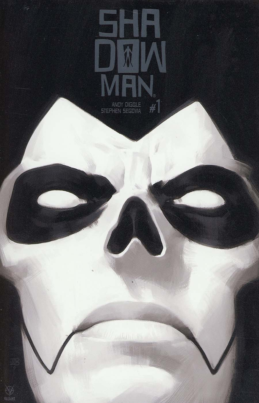 Shadowman Vol 5 #1 Cover F Incentive Tonci Zonjic Glow-In-The-Dark Metal Cover