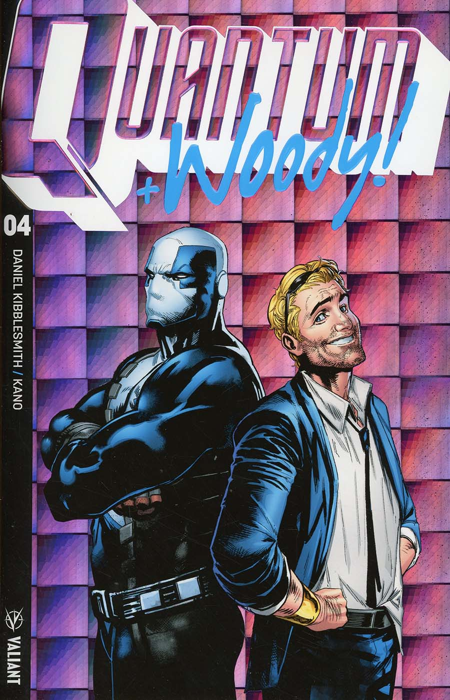 Quantum & Woody Vol 4 #4 Cover D Incentive Geoff Shaw Extreme Ultra-Foil Chase Variant Cover