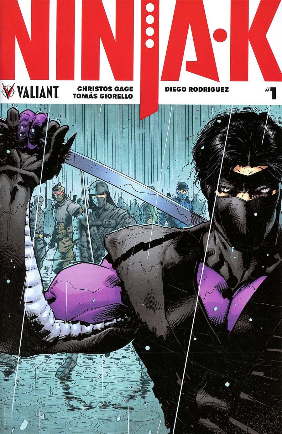 Ninja-K #1 Cover G 2nd Ptg Variant Trevor Hairsine Cover