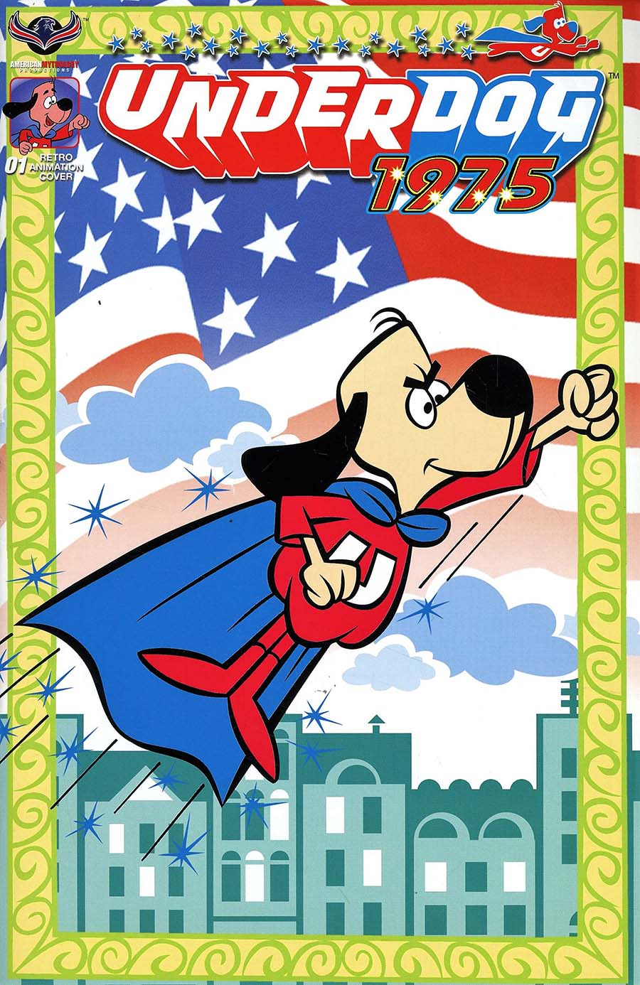 Underdog 1975 Cover D Incentive Retro Animation Variant Cover