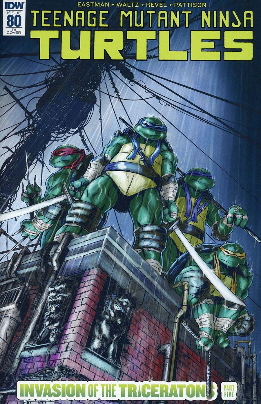 Teenage Mutant Ninja Turtles Vol 5 #80 Cover C Incentive Tadd Galusha Variant Cover
