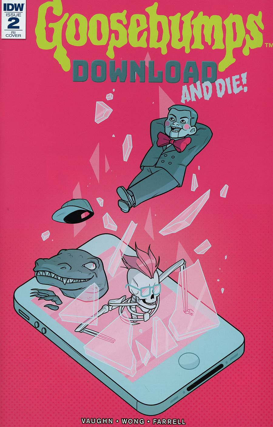 Goosebumps Download And Die #2 Cover C Incentive Sara Duvall Variant Cover