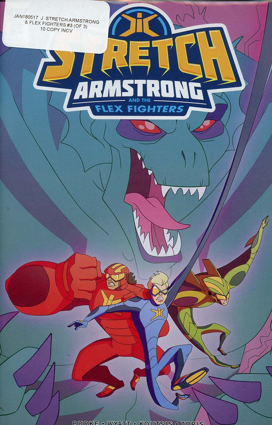 Stretch Armstrong And The Flex Fighters #3 Cover C Incentive Philip Murphy Variant Cover