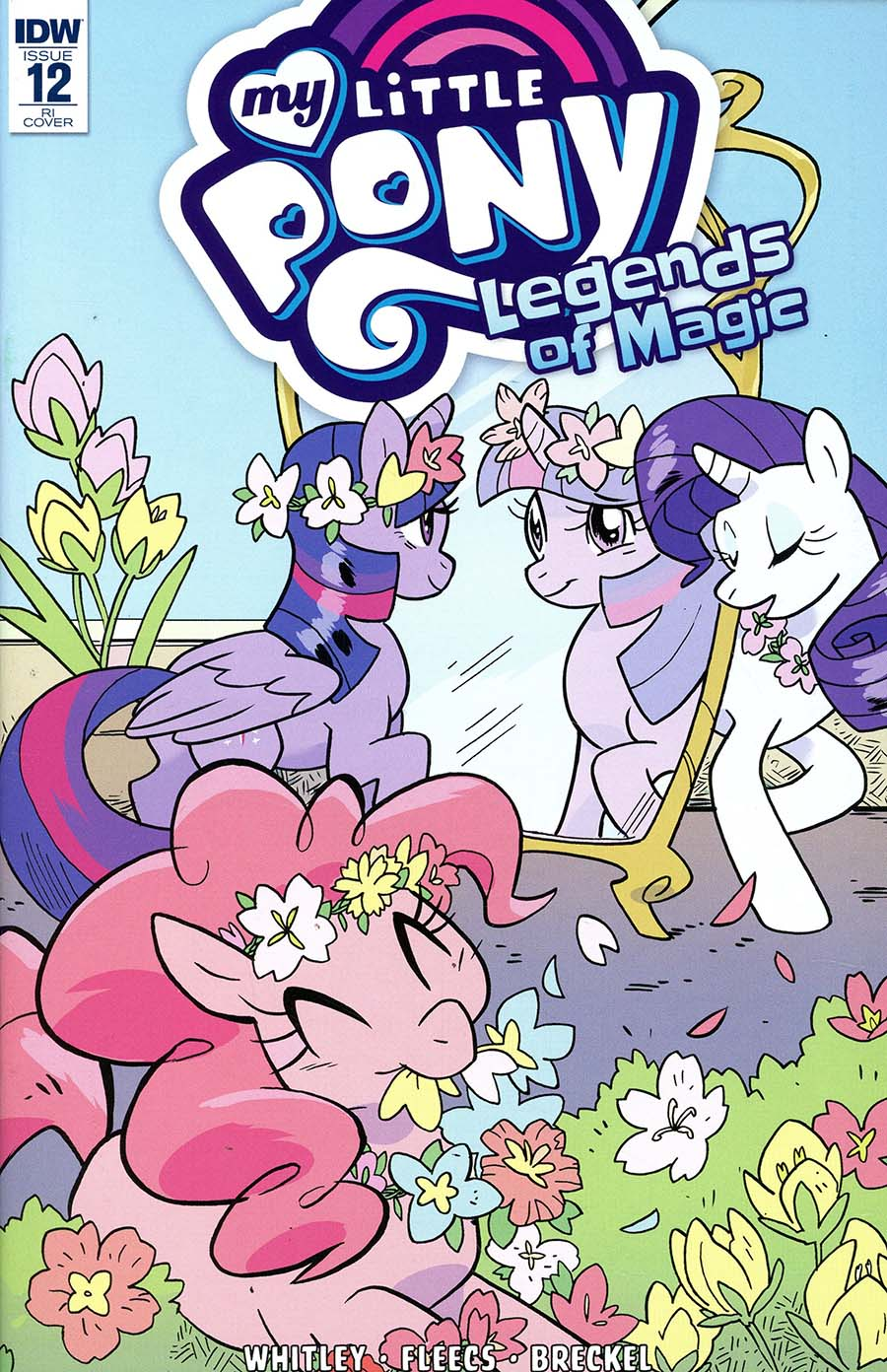 My Little Pony Legends Of Magic #12 Cover C Incentive Meaghan Carter Variant Cover