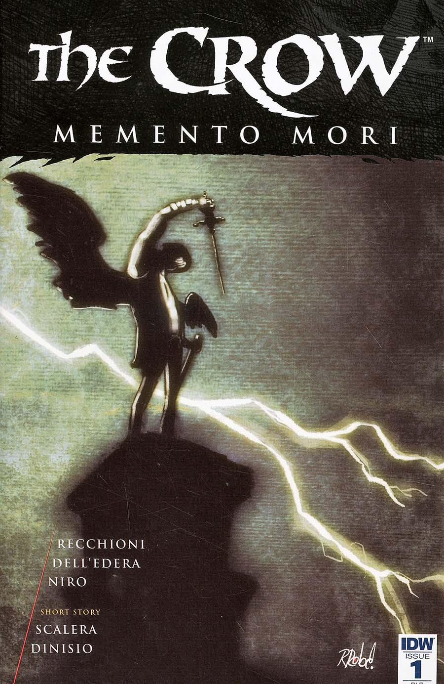 Crow Memento Mori #1 Cover D Incentive Roberto Recchioni Variant Cover