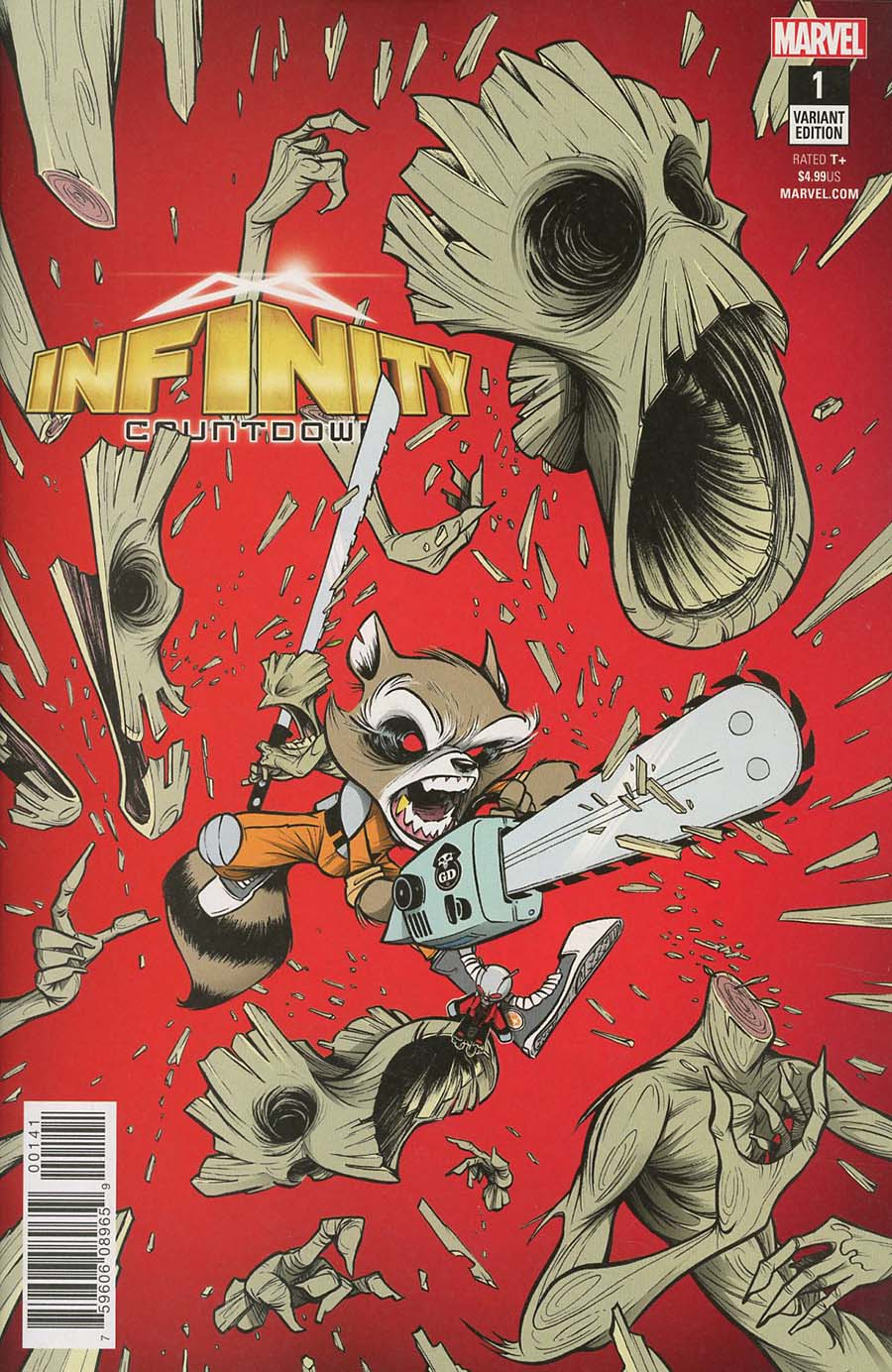 Infinity Countdown #1 Cover H Incentive Gustavo Duarte Variant Cover (Marvel Legacy Tie-In)