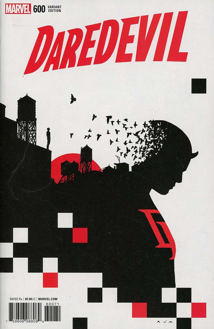 Daredevil Vol 5 #600 Cover F Incentive David Aja Variant Cover (Marvel Legacy Tie-In)