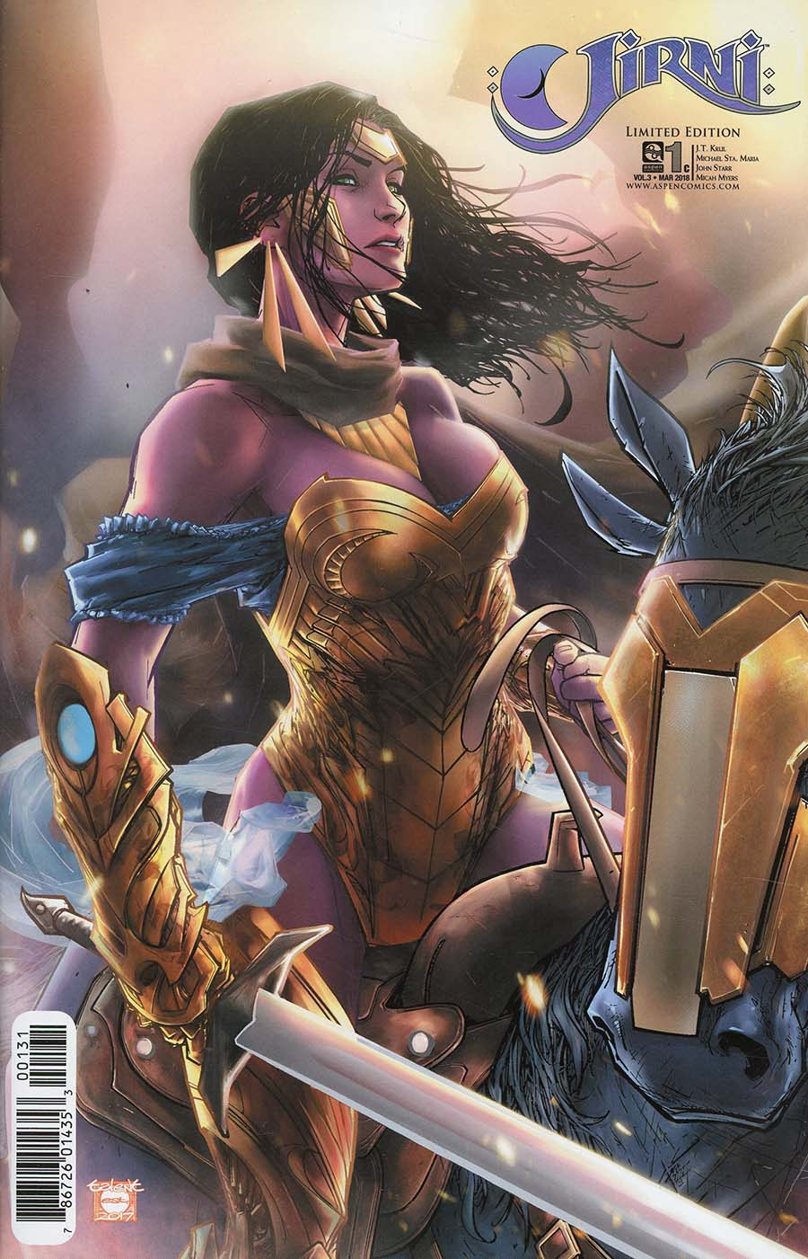 Jirni Vol 3 #1 Cover C Incentive Talent Caldwell Variant Cover