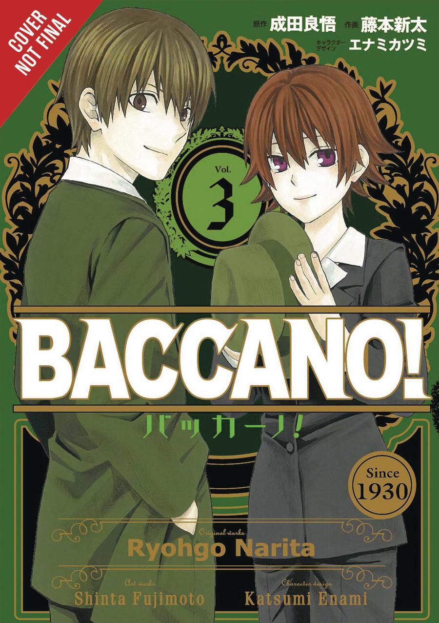 Baccano Vol 3 GN