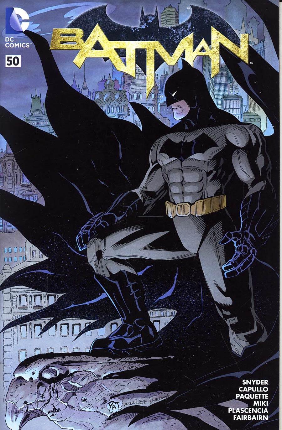 Batman Vol 2 #50 Cover K Wizard World Comic Con Box Pat Gleason Variant Cover