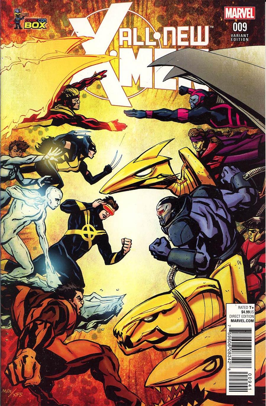 All-New X-Men Vol 2 #9 Cover D Wizard World Comic Con Box Variant Cover (X-Men Apocalypse Wars Tie-In)