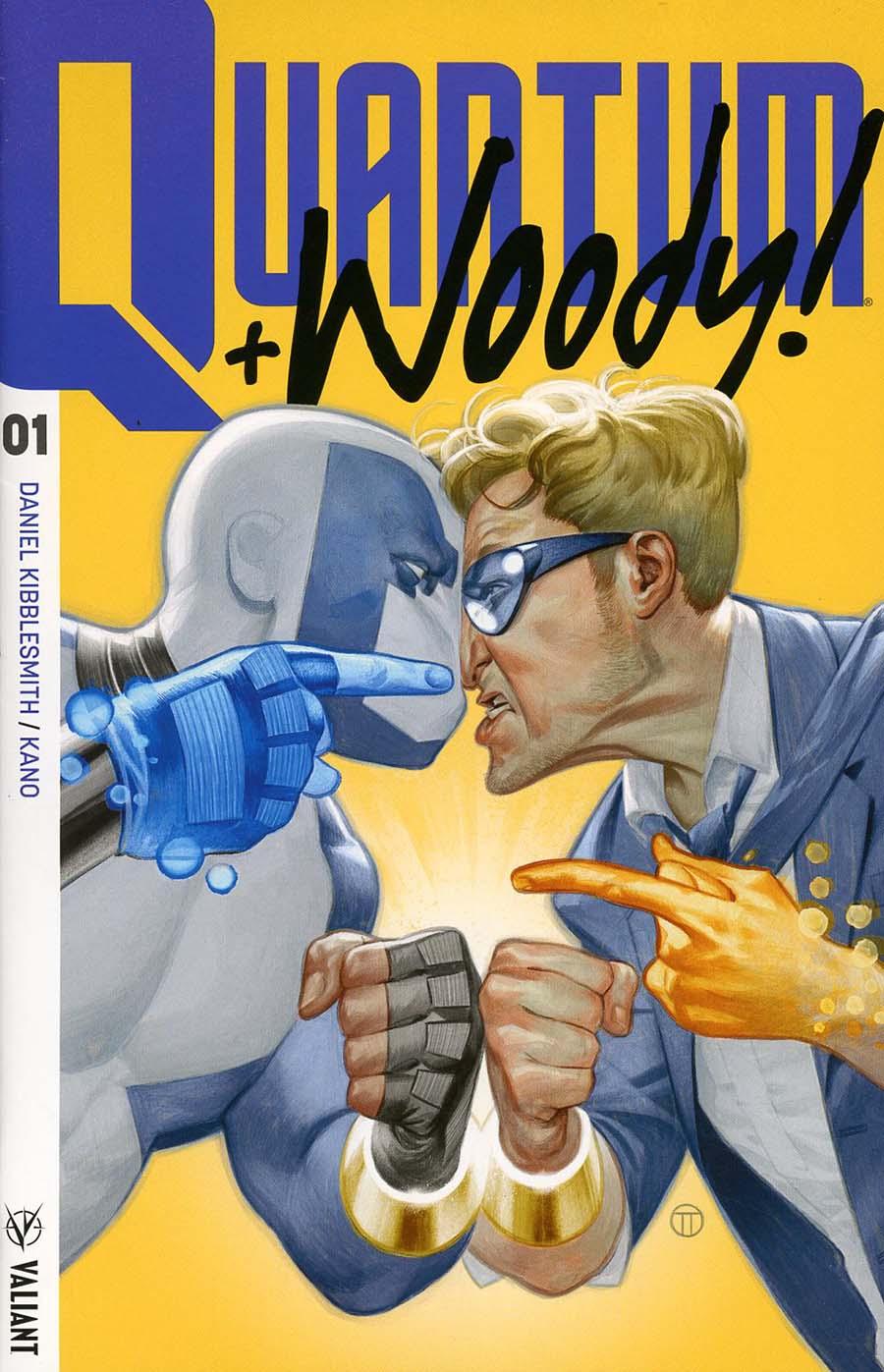 Quantum & Woody Vol 4 #1 Cover G 3rd Ptg Variant Julian Totino Tedesco Cover