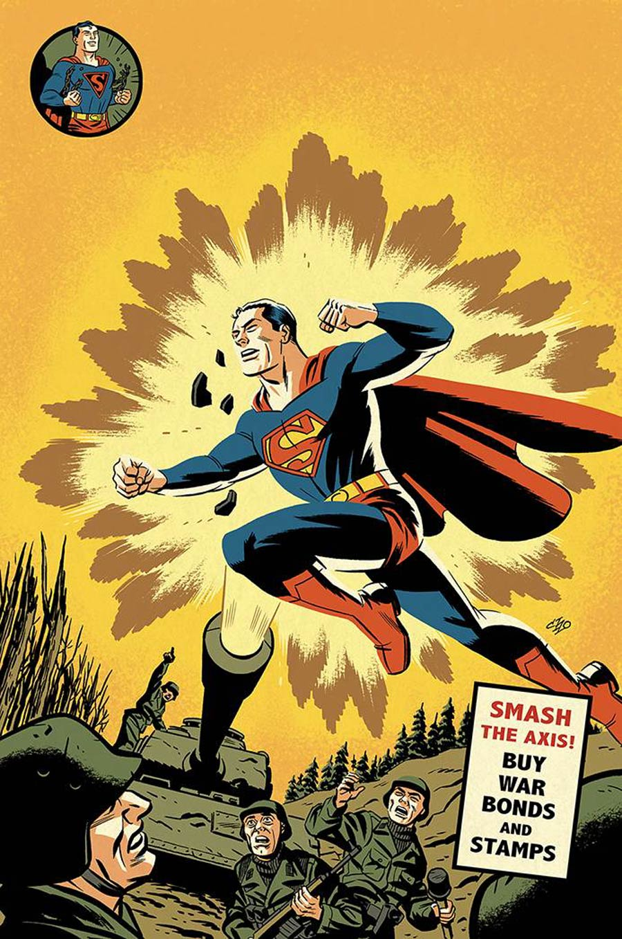 Action Comics Vol 2 #1000 Cover C Variant Michael Cho 1940s Cover